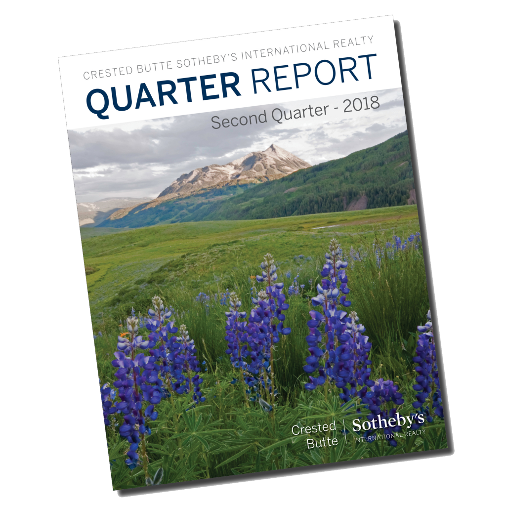 Crested Butte Real Estate 2018 Q2 Market Report
