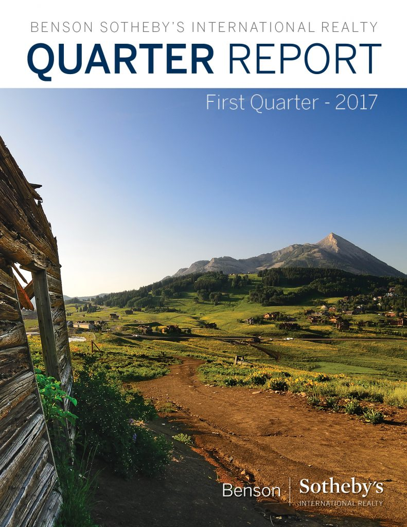 Crested Butte Real Estate Quarter 1 Market Report