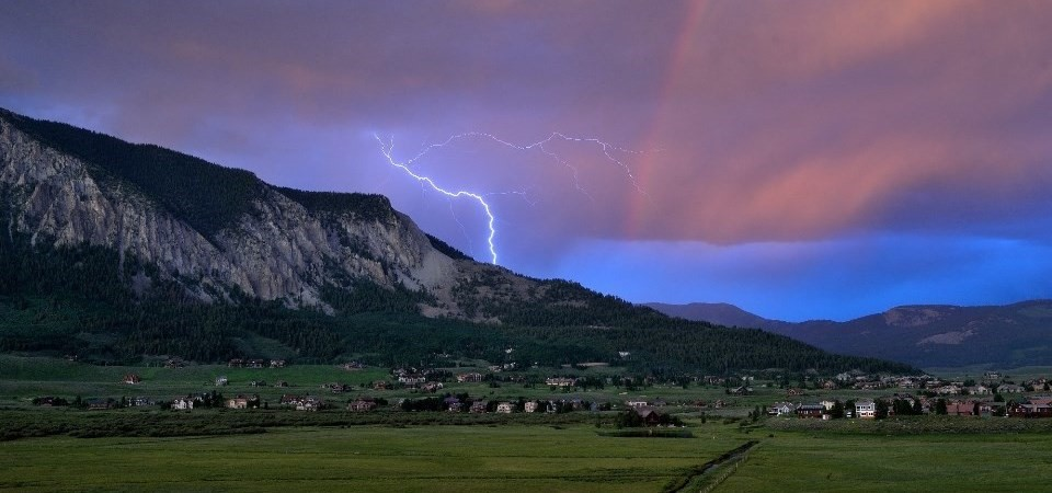 Crested Butte Lightning