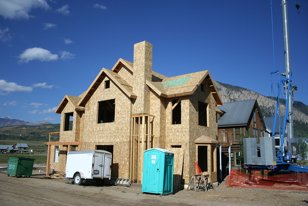 Construction in Crested Butte