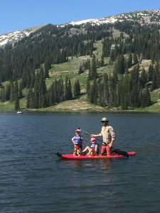 Irwin Lake Paddleboard Crested Butte