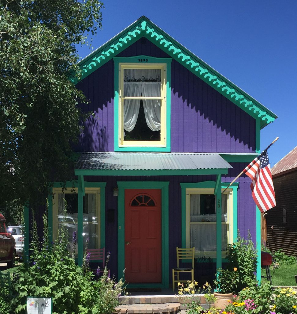 Crested Butte Colorful House