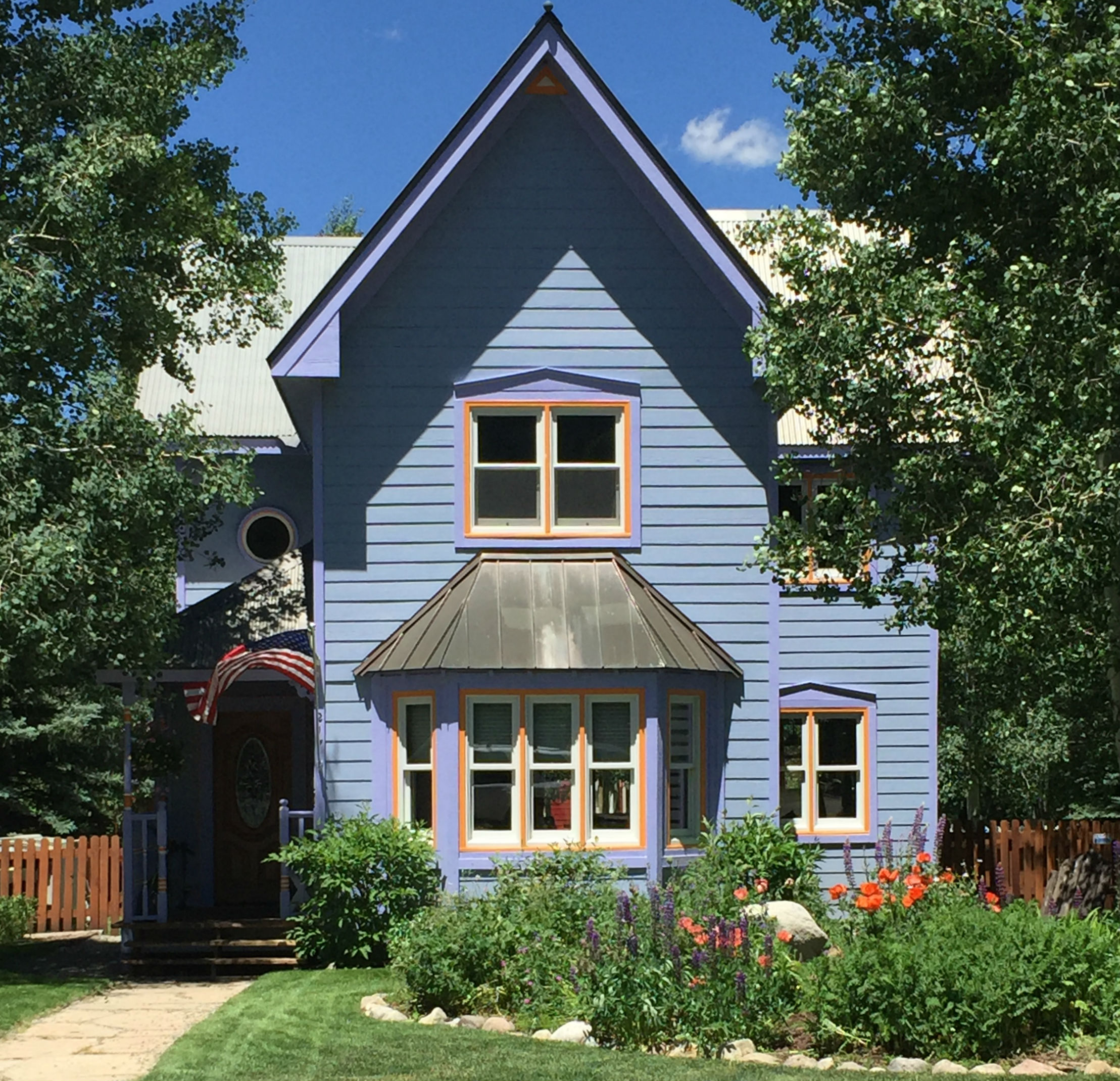 Colorful House the colorful houses of crested butte | crested butte real estate