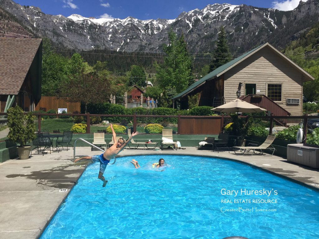 Twin Peaks Pool Ouray Crested Butte Real Estate