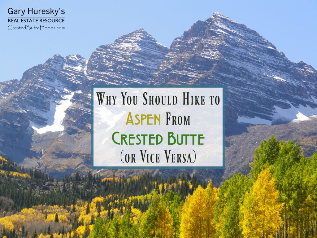 Aspen Crested Butte Hike