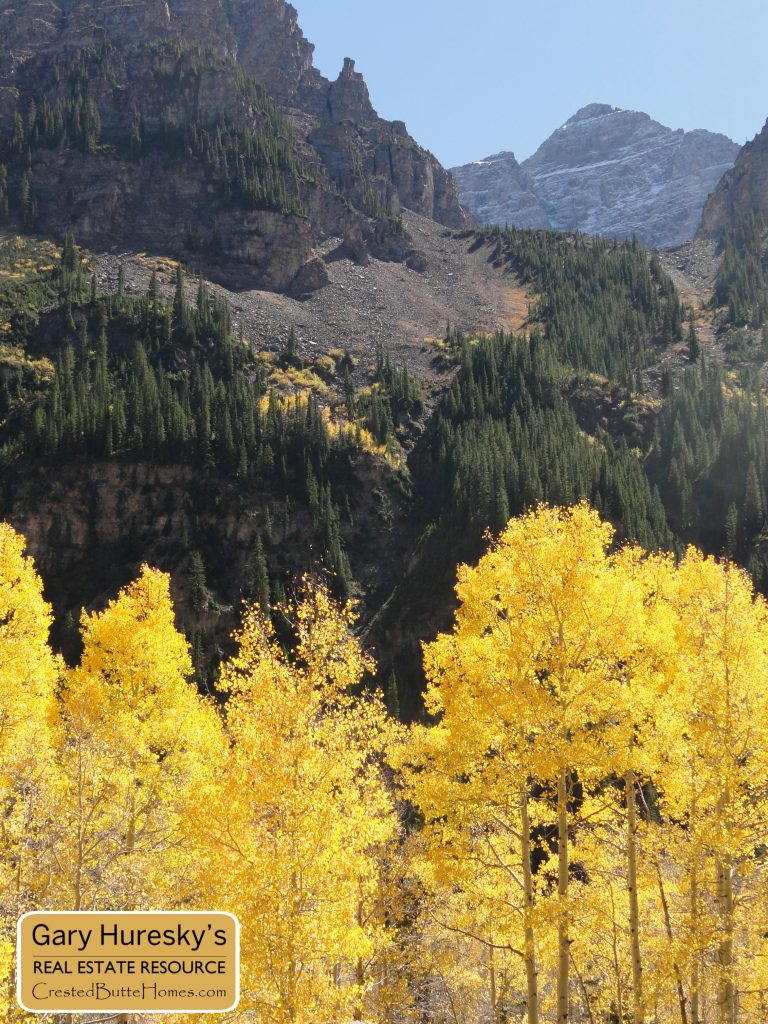 Crested Butte to Aspen Hike fall leaves