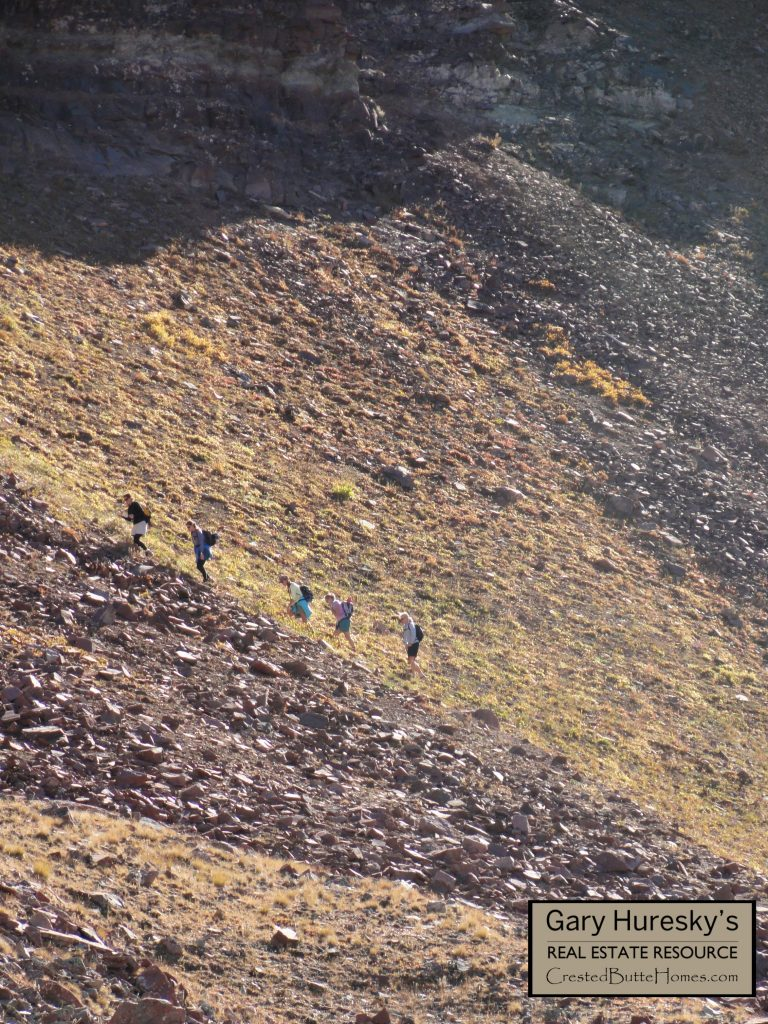 Crested Butte to Aspen hike hikers