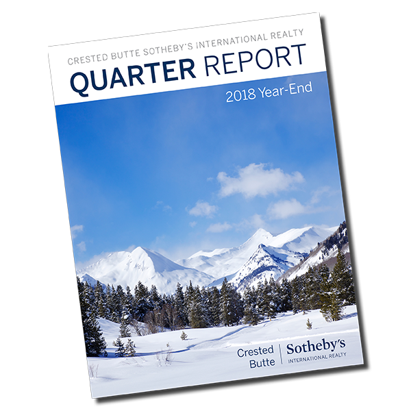 Q4 2018 Quarter End Report Crested Butte Real Estate
