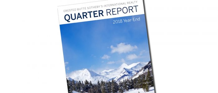 Q4 2018 Crested Butte Real Estate Market Report