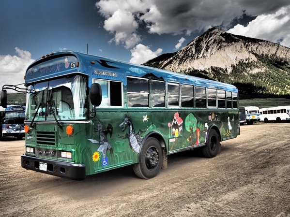 Crested Butte Mountain Express Bus