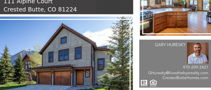 111 Alpine Court Crested Butte CO 81224