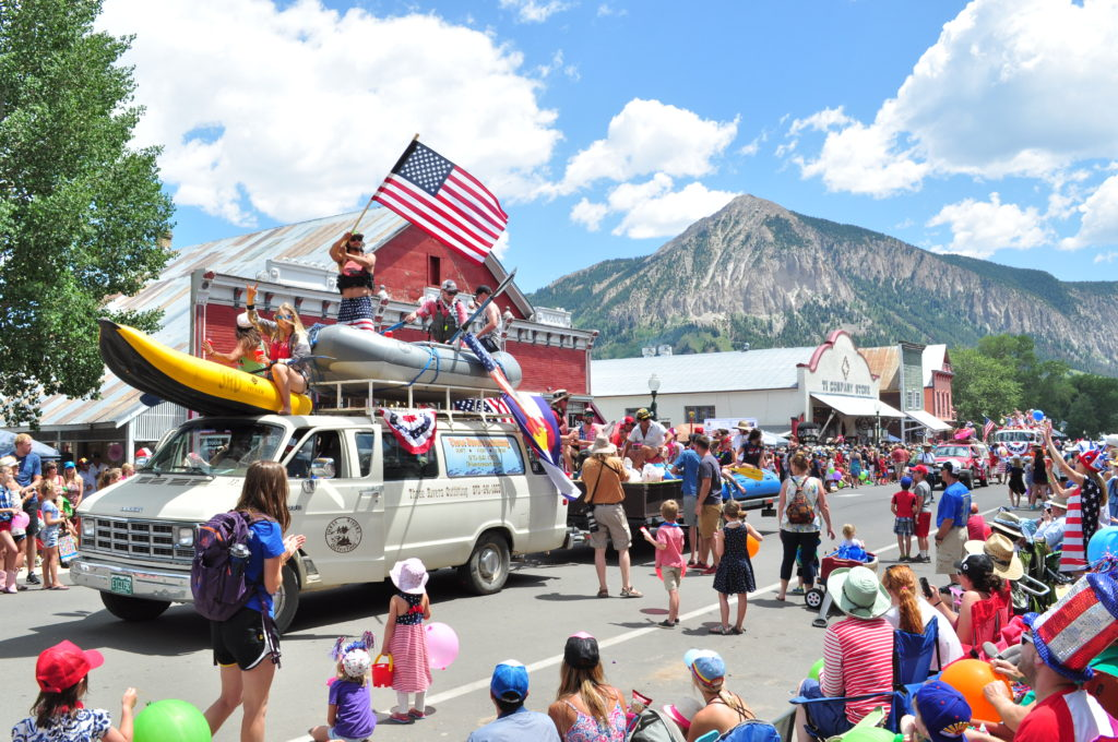 4th of July Crested Butte parade