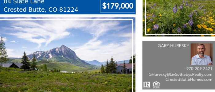 84 Slate Lane Crested Butte CO