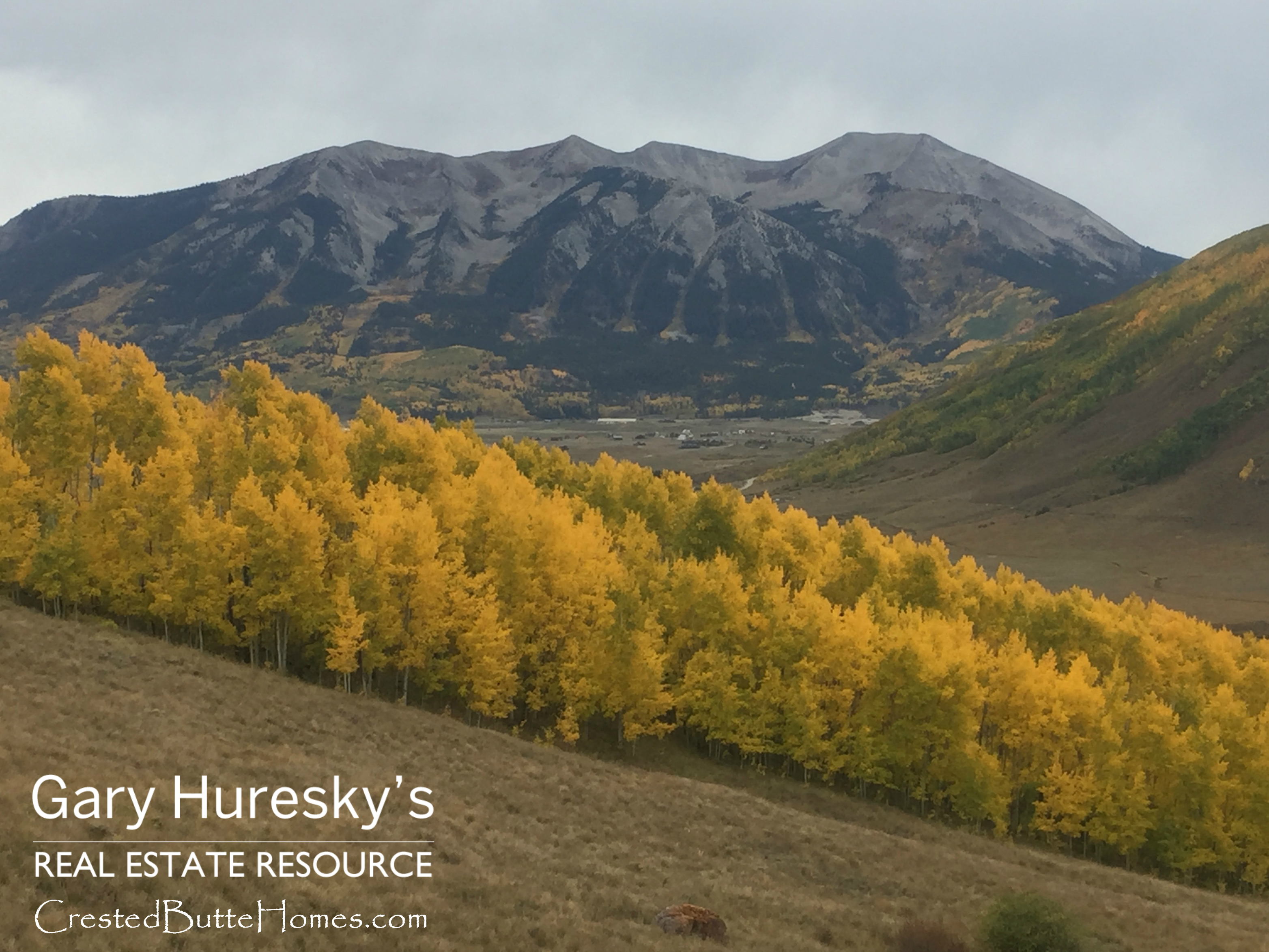 Strand Hill Crested Butte fall