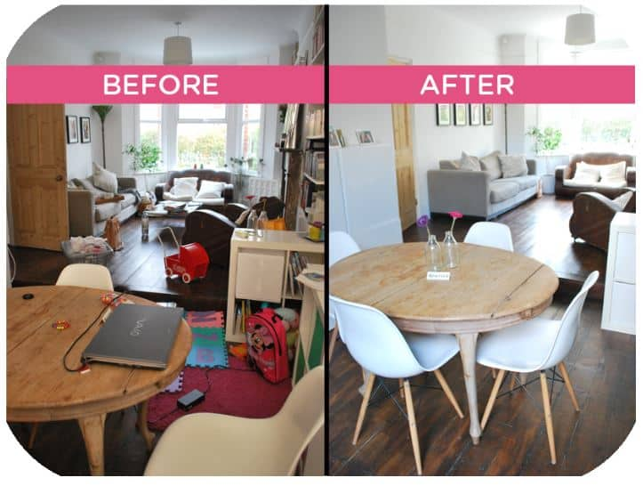 Crested Butte staging declutter
