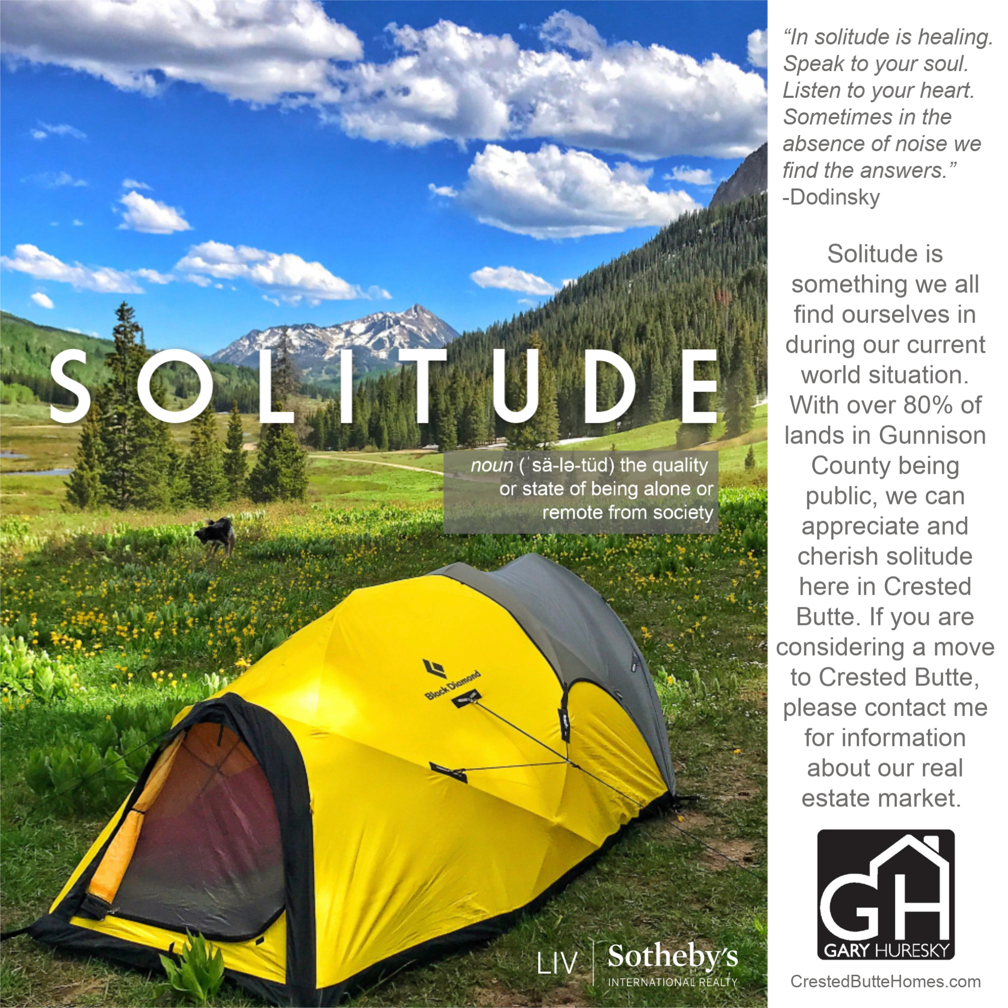 Crested Butte Camping Covid Social Distancing