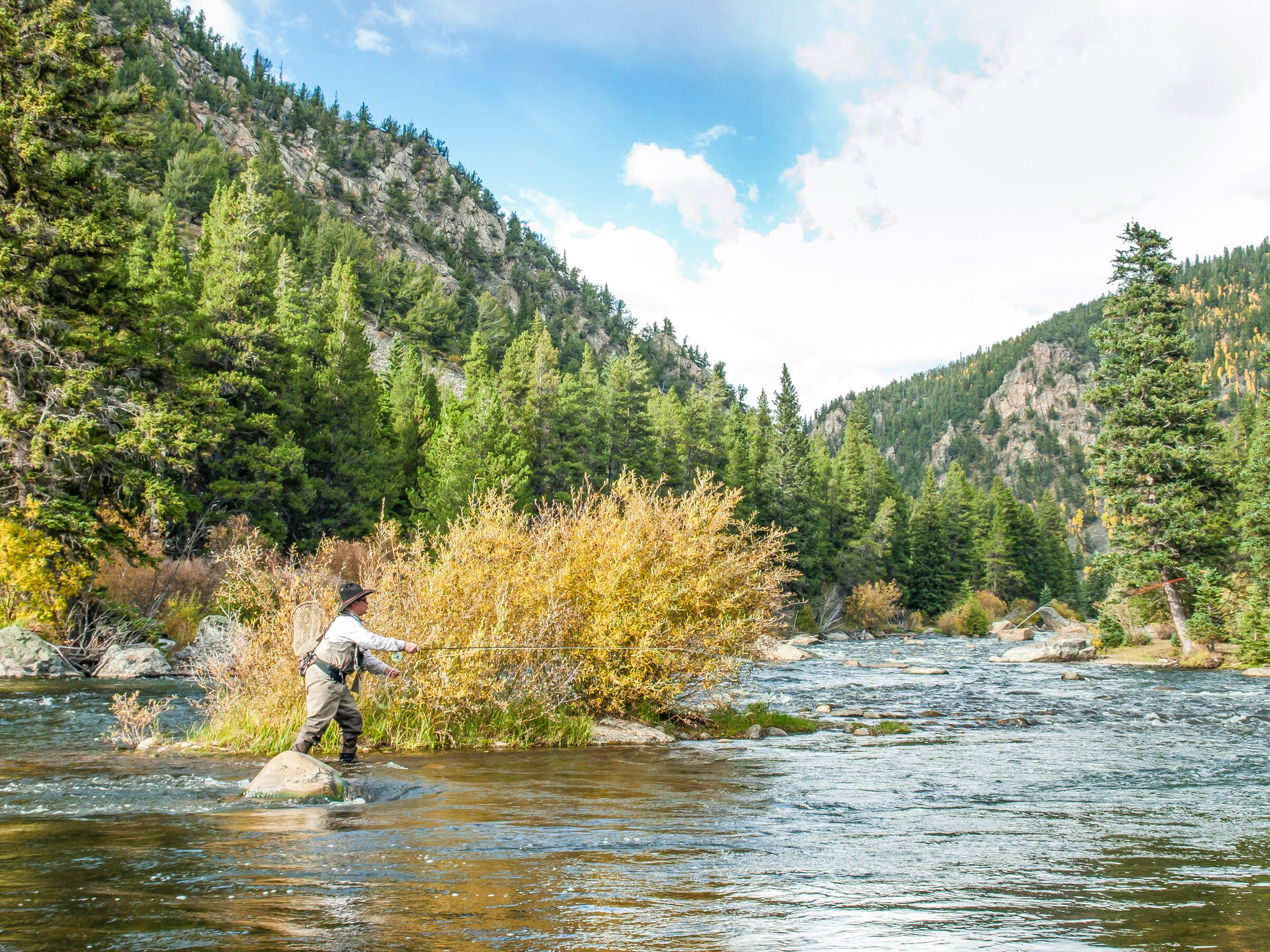 crested butte fly fishing social distancing covid