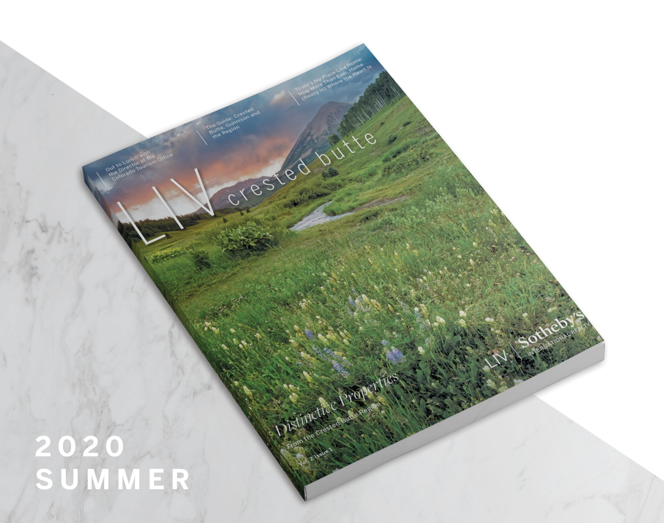 LIV Crested Butte Real Estate Magazine Summer 2020