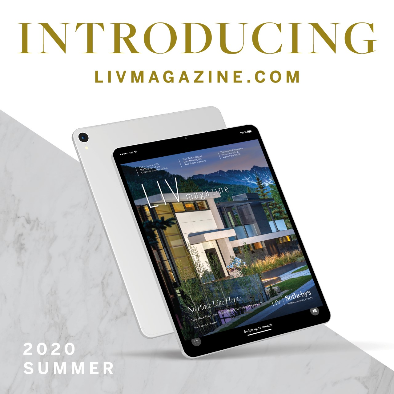 Crested Butte Real Estate LIV Magazine summer 2020