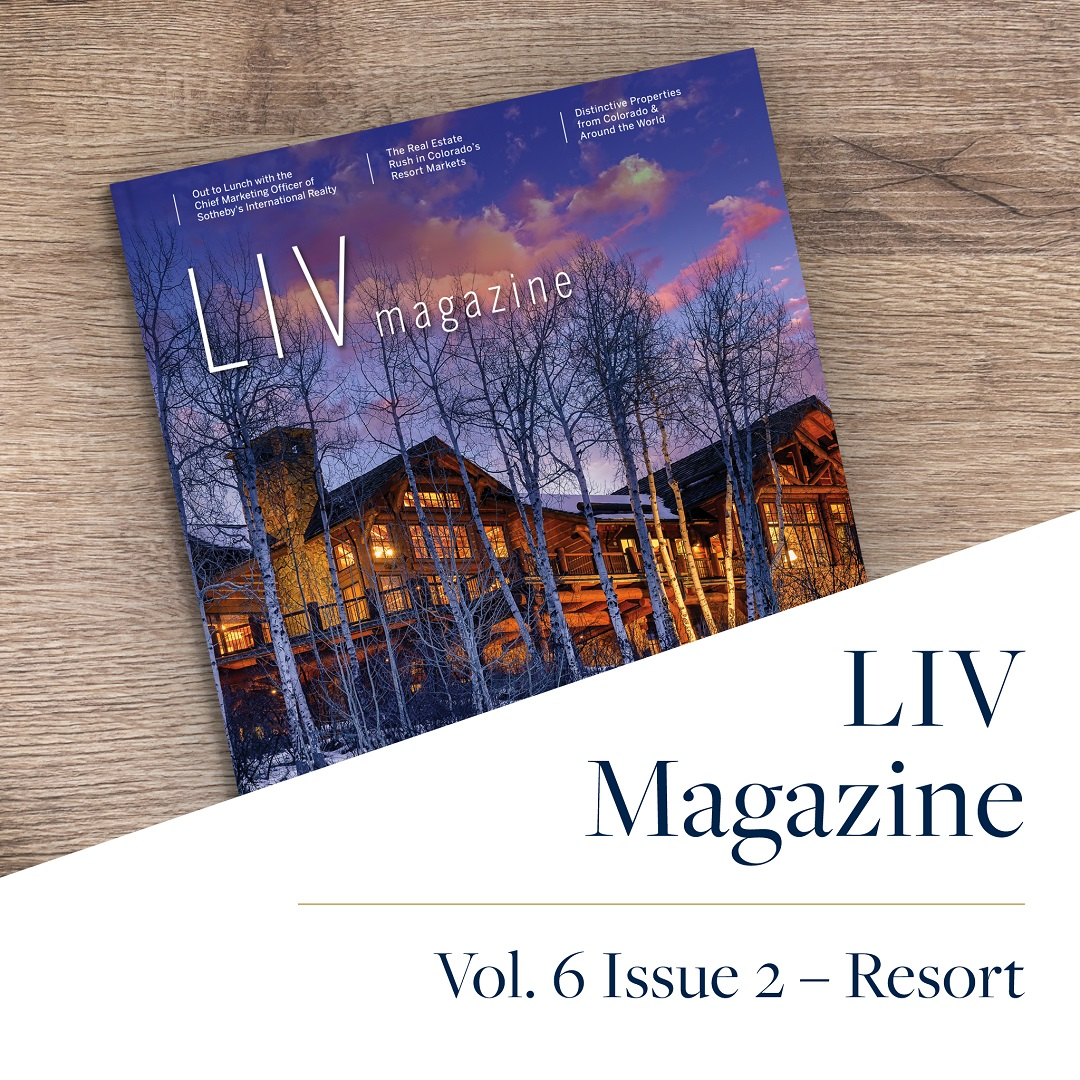 Crested Butte Real Estate LIV Resort Magazine Winter 2020 2021